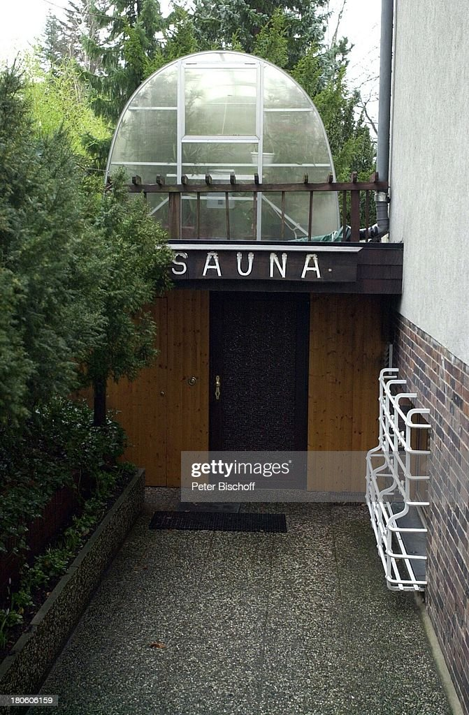 Hinter Dem Haus villa carl raddatz und ehefrau dr helga cartsburg saunaanb
