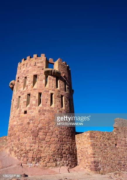 villafames also vilafames castle with rodeno castellon spain - castellon province stock pictures, royalty-free photos & images