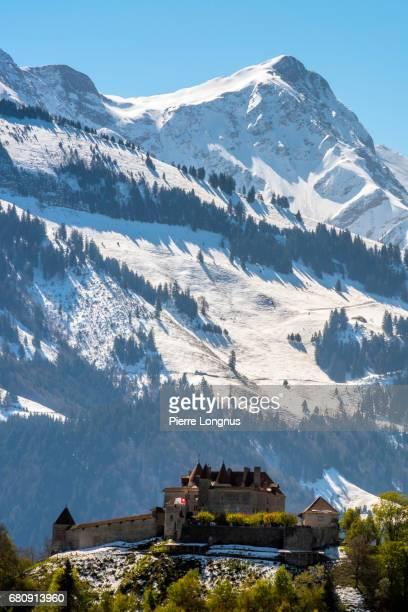 Village and Castle of Gruyères - Switzerland - Fribourg Canton - Switzerland