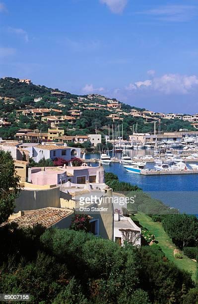 Village and harbor, Porto Cervo, Sardinia
