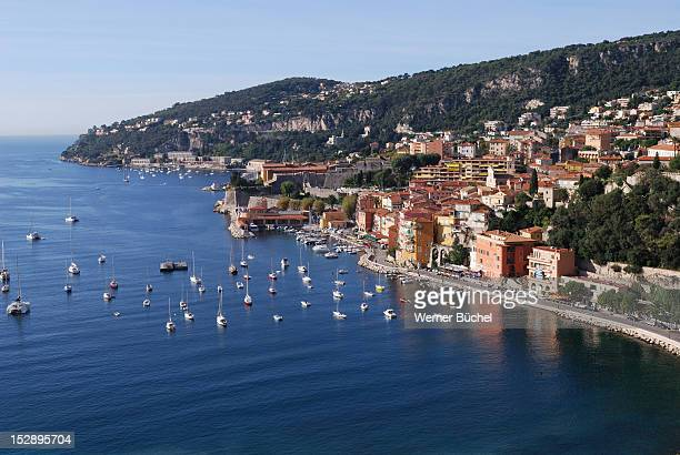 Village and Port at Cote D'Azure