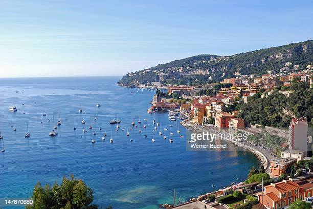 Village at the mediterranean sea Cote D'Azure