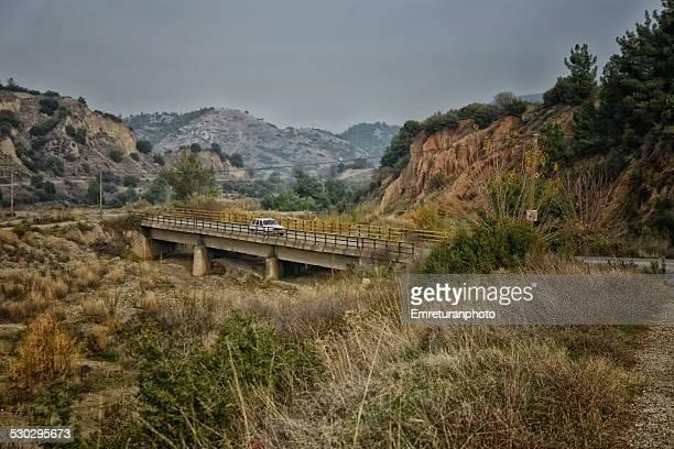 a village bridge in aegean turkey - emreturanphoto bildbanksfoton och bilder