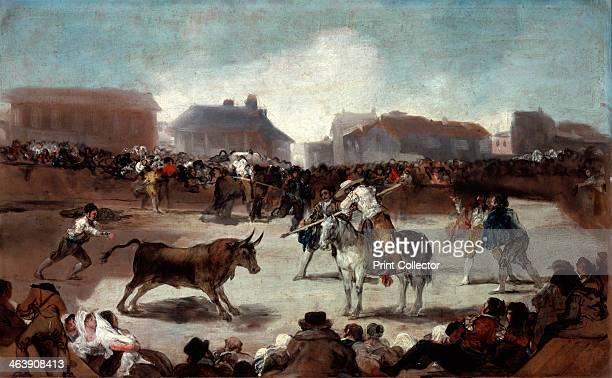 'A Village Bullfight' c18121814 From the Royal Academy of San Fernando Madrid Spain