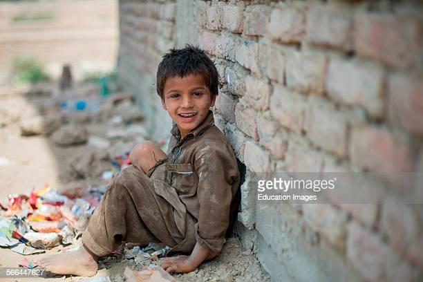 Village Child Hyderabad Pakistan Rural Pakistan