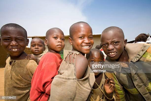 Village Children Posing, Rwanda