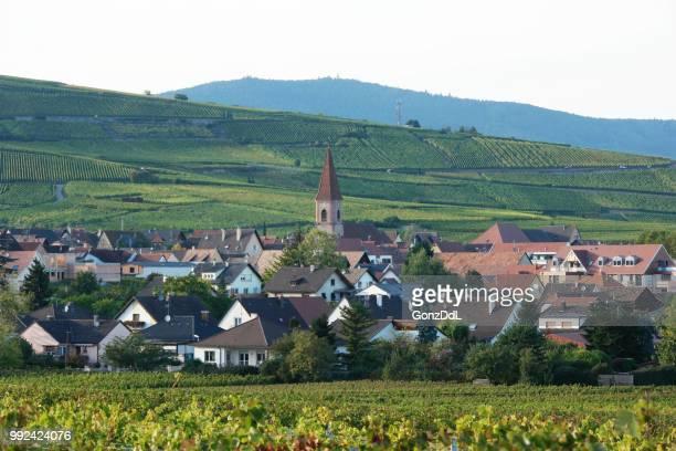 Village dans les vignes