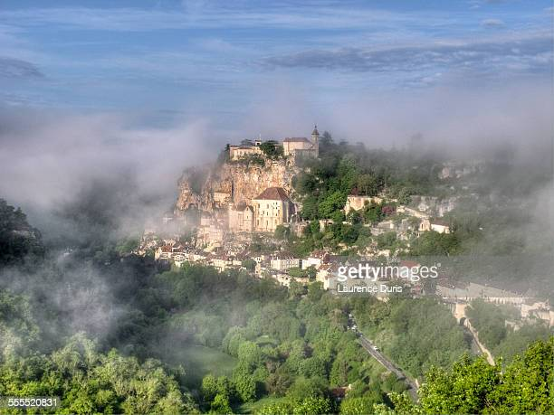 village de rocamadour - rocamadour stock pictures, royalty-free photos & images