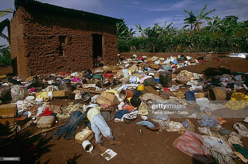 Civil War in Rwanda : ニュース写真