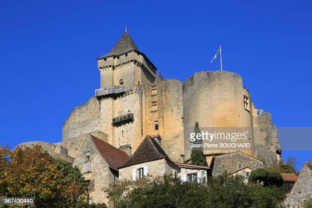 Village et château de CastelnaudlaChapelle en Périgord Noir classé plus beau village de France 30 octobre 2016 Dordogne France