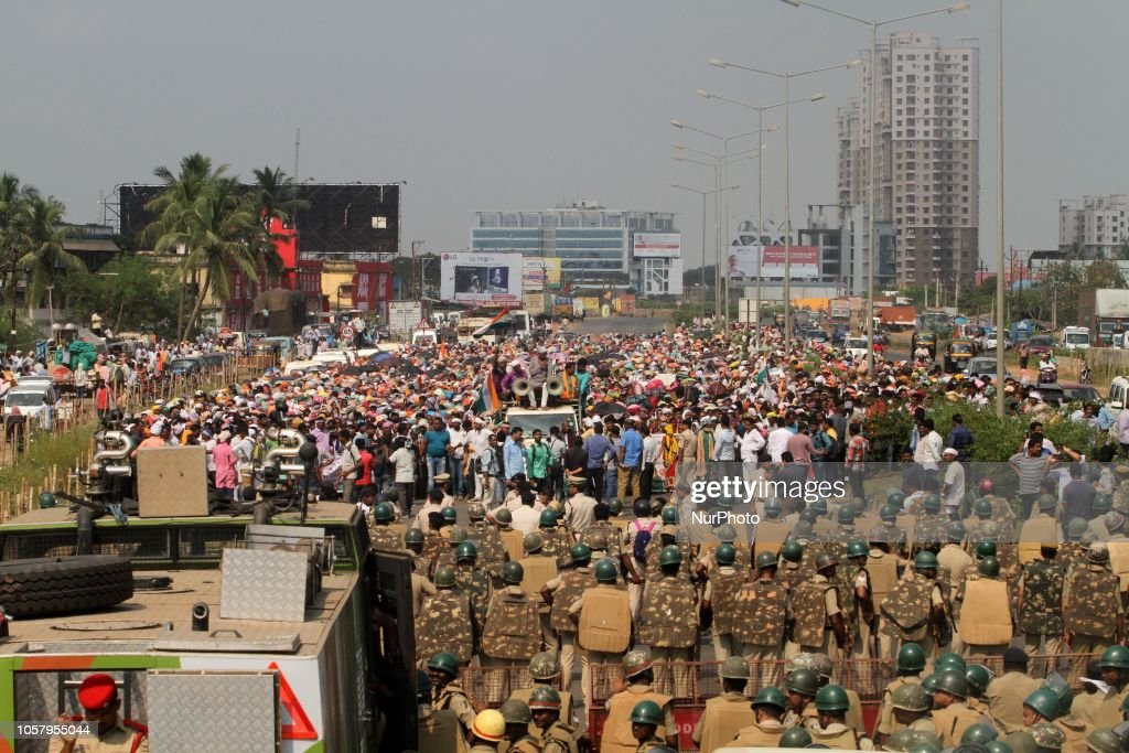 Indian Farmers Protest In Bhubaneswar : News Photo