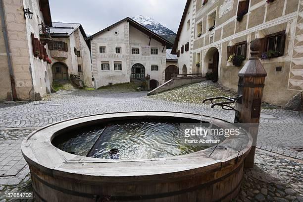 Village Guarda, Switzerland