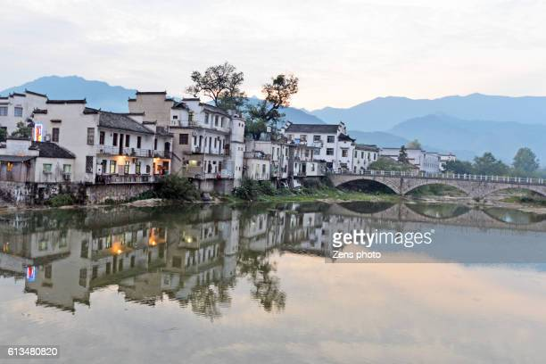 village hongcun in anhui province of china