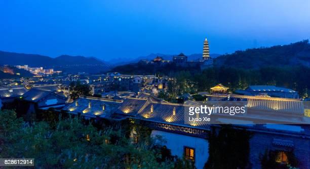 village in beijing suburbs - liyao xie bildbanksfoton och bilder