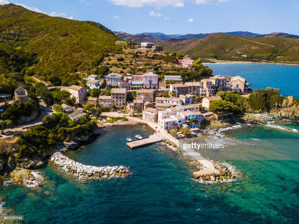 Village in Corsica, France : Stock Photo