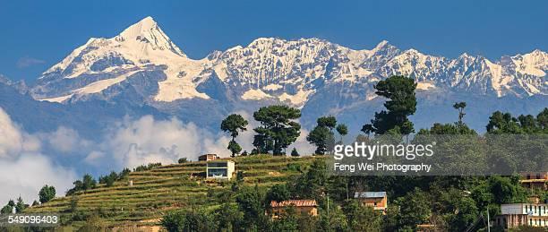 Village In Himalayas, Nagarkot, Nepal