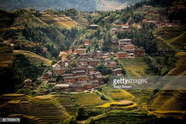 Village in Longsheng Rice Terraces