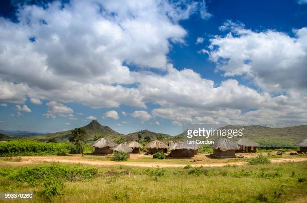village in malawi - malawi stock pictures, royalty-free photos & images