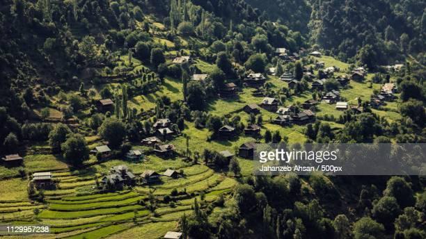 Village in mountains