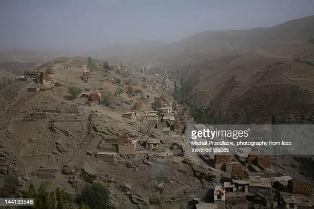village in raghestan district - badakhshan fotografías e imágenes de stock