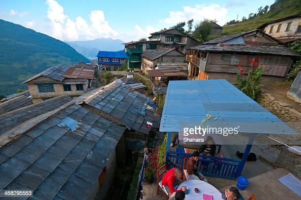 Village in the Annapurna Region  Nepal