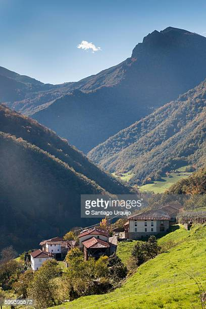 Village in the Cantabrian Range