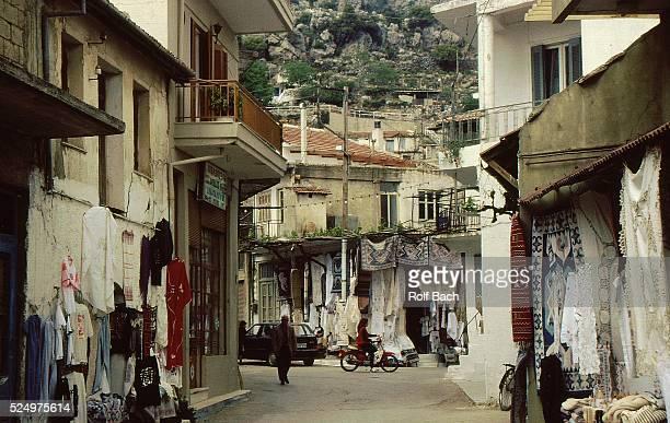 Village in the Lassithi level in Creta