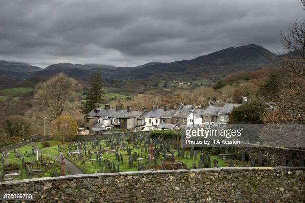 Village in the mountains of North Wales