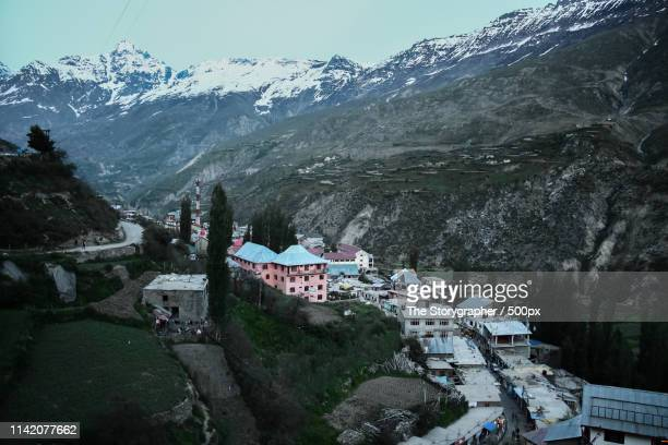 a village in the mountains - the storygrapher stock pictures, royalty-free photos & images