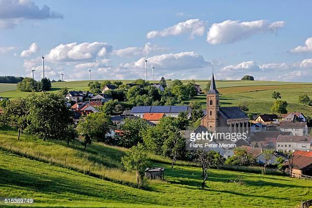village Kirf, Saargau, Germany