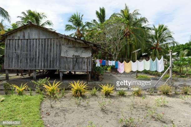 村ランドリー - ソロモン諸島 ストックフォトと画像
