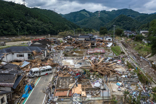 JPN: Torrential Rain Causes Widespread Flooding In Central Japan