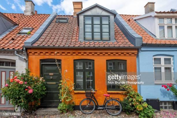 village life, denmark - オルフス ストックフォトと画像