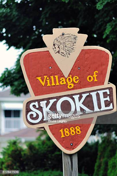 Village Limits Sign