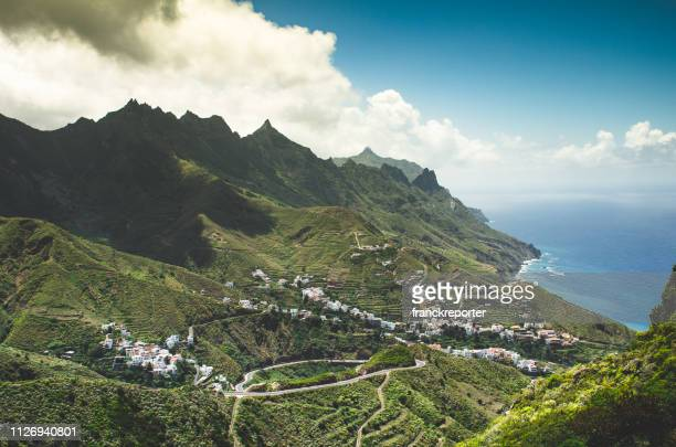 masca village in tenerife - tenerife stock pictures, royalty-free photos & images