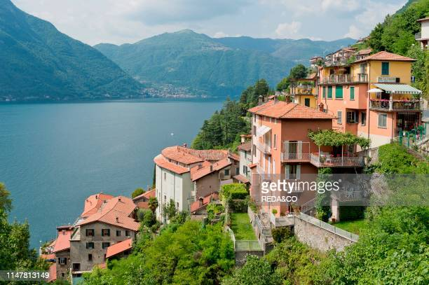 Village Nesso Lombardy Italy