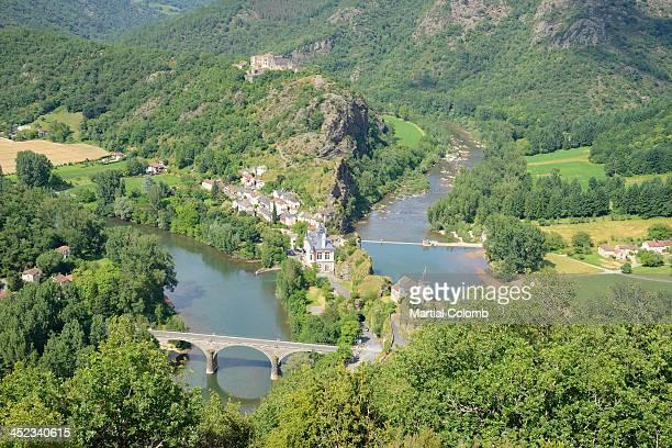Village of Ambialet, Tarn valley