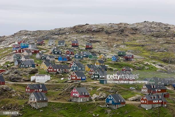 Village of Ammassalik, Greenland, Arctic, Polar Regions