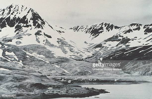 Village of Attu Attu was one of two Aleutian islands captured by Japanese forces during WW II A Weather Bureau observer Charles Foster Jones was shot...
