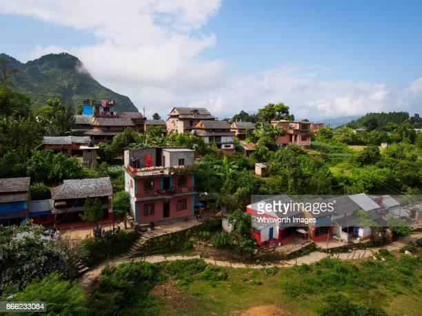Village of Bandipur in Tanahun, Nepal