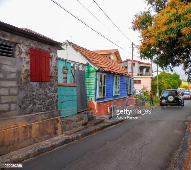 ディアマントビーチ村(マルティニーク) - 西インド諸島文化 ストックフォトと画像
