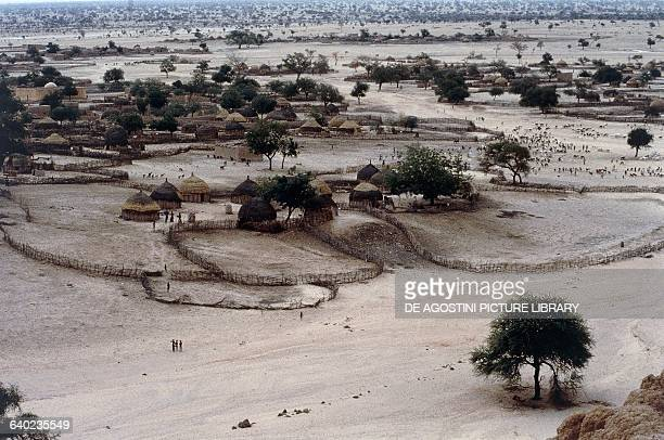 Village of farmers from Bambara o Bamana people Mali