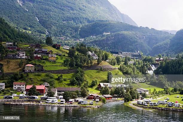 Village of Geiranger.