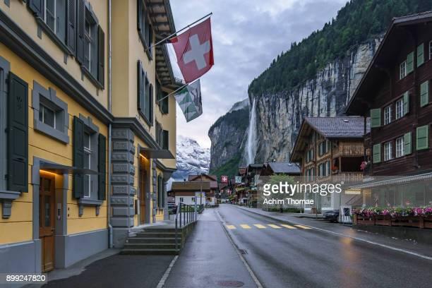 Village of Lauterbrunnen, Switzerland, Europe