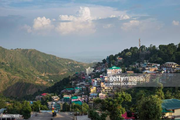 Village of Mac Leod Ganj located 7 km above the city of Dharamsala