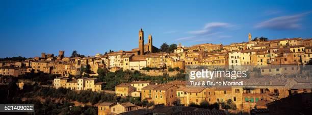 Village of Montalcino in Tuscany, Italy