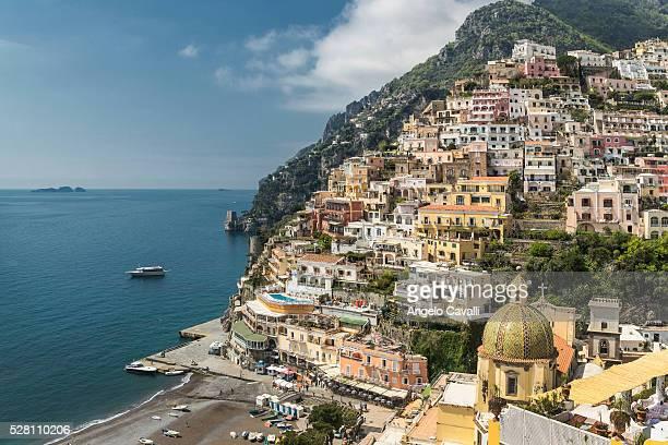 Village of Positano, Amalfi Coast, Campania, Italy