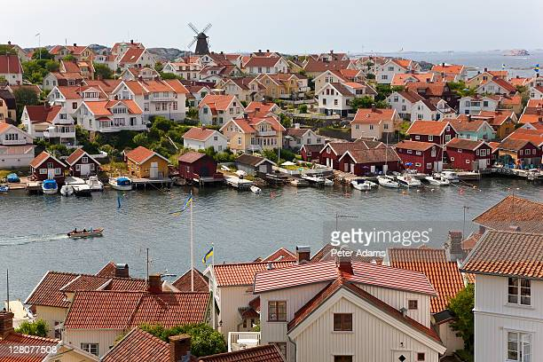 village of ronnang, bohuslan, sweden - peter adams stock pictures, royalty-free photos & images