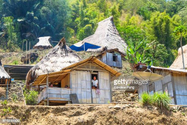Village of the Luo Tribe in Flores Indonesia.