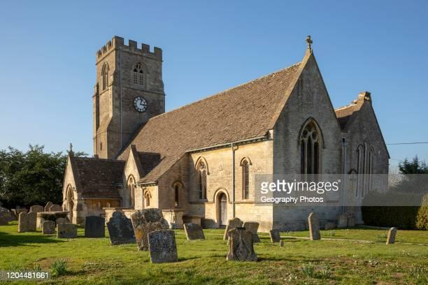 Village parish church of Saint Mary Magdalene Hullavington Wiltshire England UK